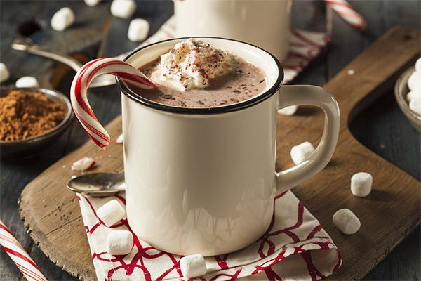 8 Maids a Milking: Coconut Hot Chocolate